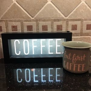 💥SALE💥 Light Up Coffee Sign